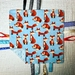 Tag Cloth ~ Foxes