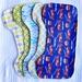 Shoulder Burping Towels - 5 Assorted Towels