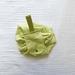Drawstring Make-Up Bag  - Green Mesh