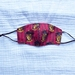 Face Mask ~Cotton~3 Layered ~Nose Wire  ~ Gryffinodor