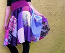 Ravishing Purples Patchwork skirt or dress