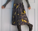 Kina Colour wearable art wraparound skirt