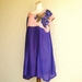 Sale - Purple silk dress