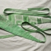 Obi style belt in vintage linens