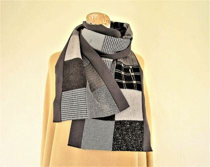 Patchwork scarf