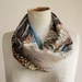Summer patchwork  scarf.