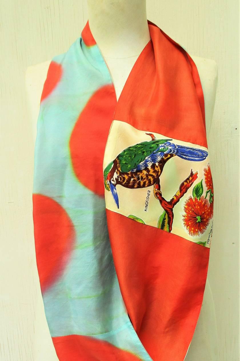 Kiwiana infinity scarf.