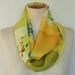 Silk infinity scarf