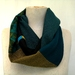 Greens and merino infinity scarf