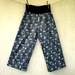 Blue cotton pants - medium