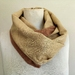 Silk and wool mix scarf