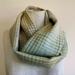 wool plaid blanket scarf