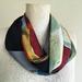 Patchwork  infinity scarf