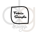 Fabric sample - Fabric swatch