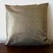 Cushion Cover – metallic gold 45 x 45cm