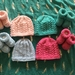 Bootees and hat sets.