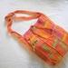 crochet cotton shoulder bag