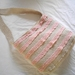 crochet cotton shoulder bag