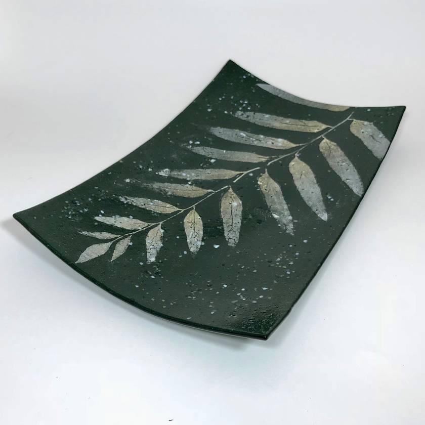 Fossilised Leaf Platter