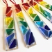 Jelly Bean Fused Glass Suncatchers