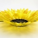 Fused Glass Sunflower Bowl - large