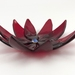 Small Flower Bowl - Red