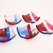 Geometric Fused Glass Dishes - Pinks & Reds