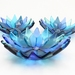 Tiny Flower Bowls - Blue