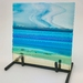 """""""Horizons - Dreaming of Fiji"""" Fused Glass Sculpture"""