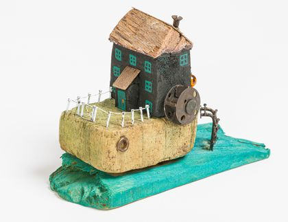 Driftwood Water Mill