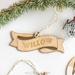 Customised Christmas Ornament - Ribbon