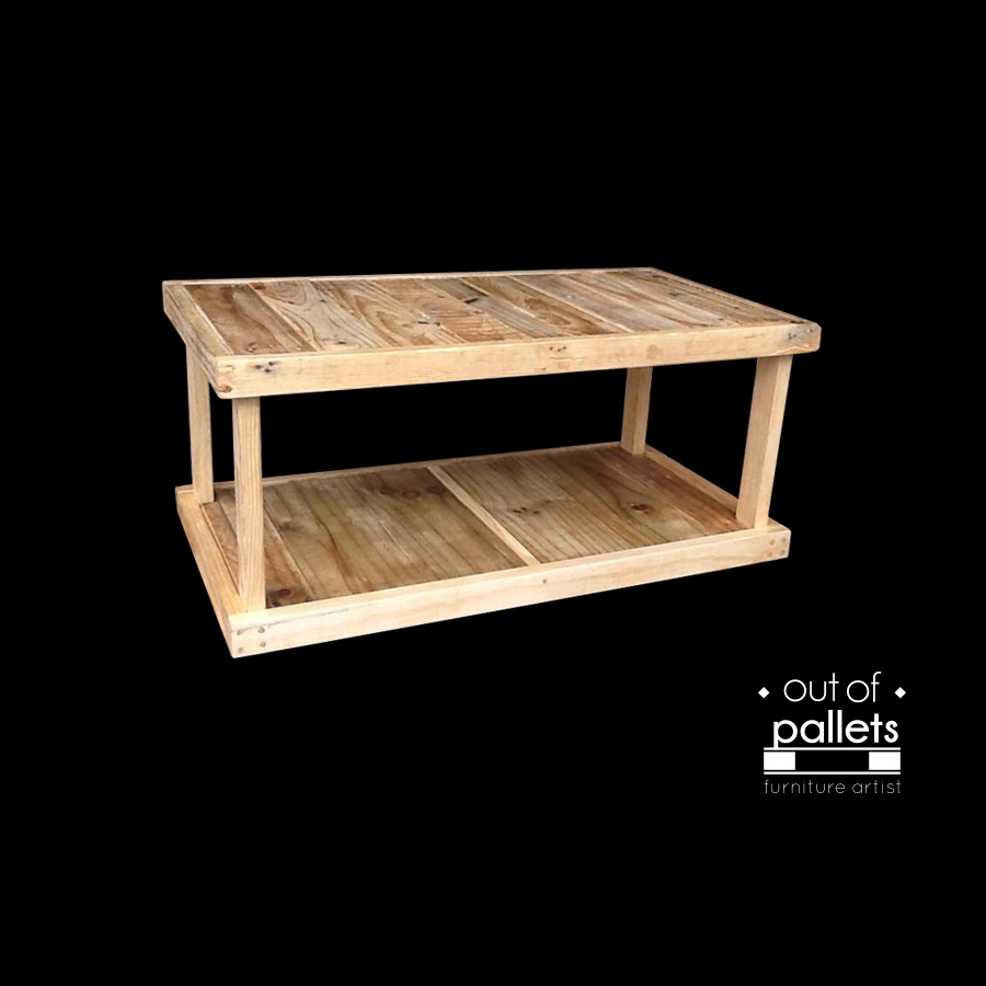 Coffee Table By Out Of Pallets Furniture Artist Felt