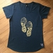 Ladies Teal Tramping Tee