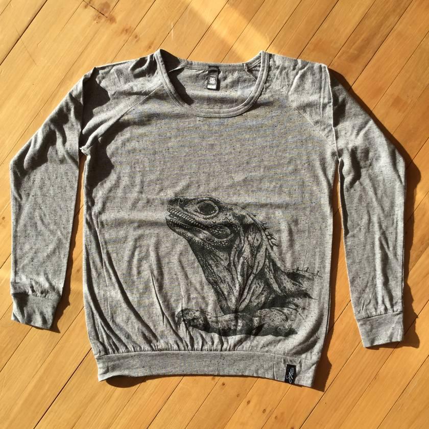 Tuatara Slouch Crew Sweater