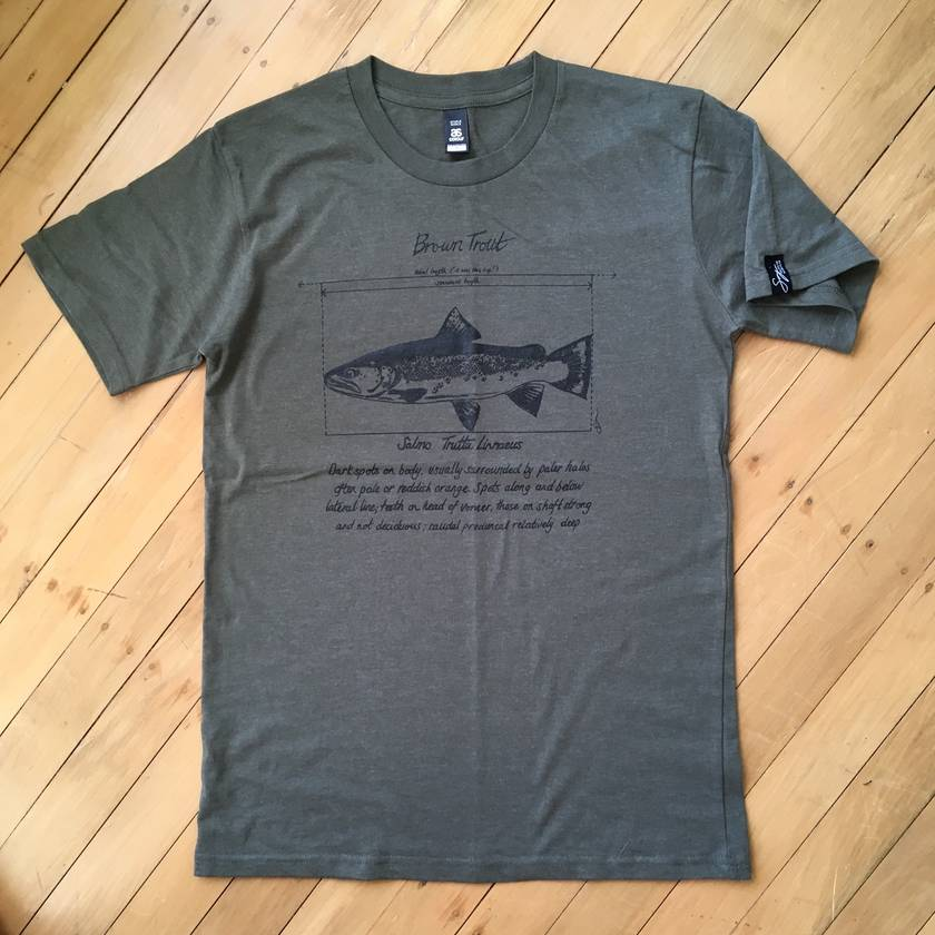 Brown Trout Fishing T-Shirt