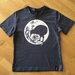 Kids Airforce Blue Moonlight Kiwi T-shirt