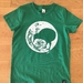 Kids Green Moonlight Kiwi T-shirt