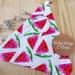 Peg bag _ Watermelon white