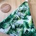 Peg bag Tropical leaves - green