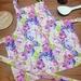 Roses toddler apron, kids apron