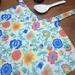 Spring Flowers toddler apron, kids apron