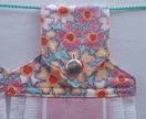 Hanging towels - set of two in pink
