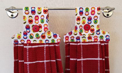 Hanging towels - set of two