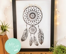 'Never Stop Dreaming' Dream catcher