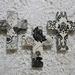 Black & White Crosses Set of 3