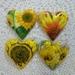 Sunflowers  Set of 4