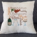 Machine embroidered cushion covers