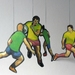 Rugby Hanging Mobile