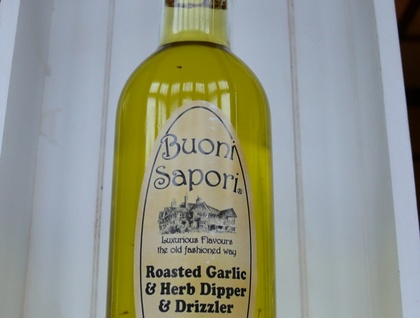 Roasted Garlic and Herbs Dipper and Drizzler Olive Oil