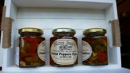 Pickled Peppers Pugliese in olive oil